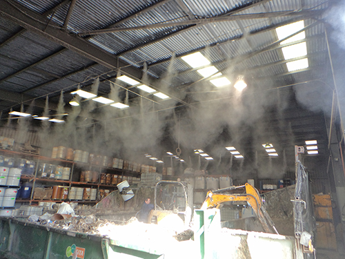 Fogging Systems for Dust Control   Dust Suppression Brisbane
